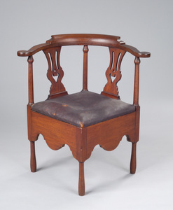 1932-04-1 corner chair owned by sally burr reeve