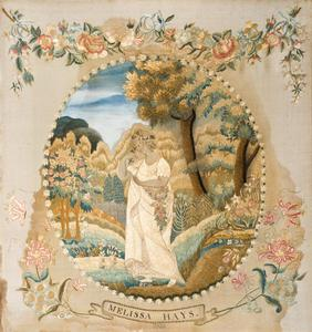 Melissa hays silk embroidery